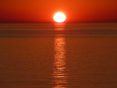 Sunset in New Buffalo Michigan