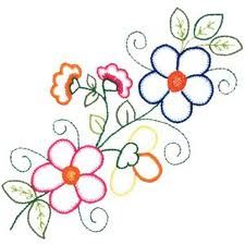 Bildergebnis für moldes para bordados a mão Bead Embroidery Patterns, Tambour Embroidery, Hand Embroidery Flowers, Hand Embroidery Designs, Floral Embroidery, Beading Patterns, Cross Stitch Embroidery, Bordados Tambour, Bordado Floral