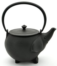Cute teapot reminds me of my son's love of elephants when he was little