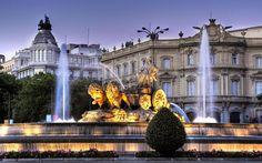 La Cibeles, uno de los monumentos más representativos de Madrid