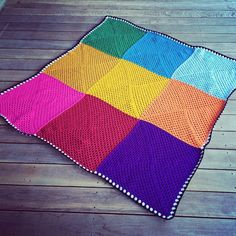 """Finished!! Another #Kogo #knitonegiveone #crochet #grannysquare #charityblanket"""
