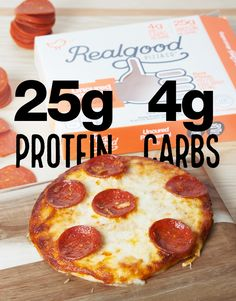 Pizza with ONLY 4g Carbs & 25g Protein. Available at Publix. Click to find store.