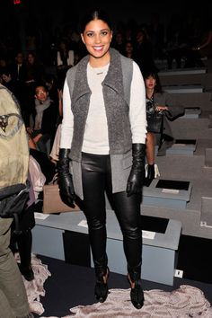 Jessica Hart WSJ. Celebrates Kristina ONeills Debut Issue - Fall 2013 Fashion Week Parties - Harpers BAZAAR