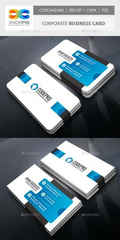 Buy Corporate Business Card by -axnorpix on GraphicRiver. Round /square corner possible. Easy to edit. Minimal Business Card, Elegant Business Cards, Free Business Cards, Corporate Business, Business Card Logo, Business Card Design, Dental Business Cards, Real Estate Business Cards, Professional Business Cards