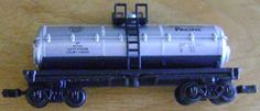new N gauge tanker car by theevintageshop on Etsy, $4.00....we have a trainload of vintage and unique gifts under 10.00