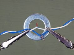 Using a Washer as a Soldering Aid