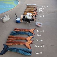 Why are the Mako Mermaids' tails redder? And why are the old tails at the same place? I read that the H2o mermaids might appear...but not too sure if that was legit.