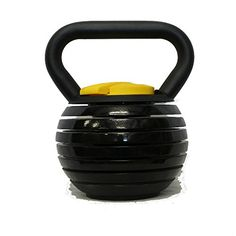 Kettlebell Kings  Black Adjustable Kettlebell  10  40 Pounds Made For Diverse Workouts and Home Use -- Be sure to check out this awesome product.