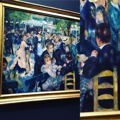 Yes, it appears that #renoir ls a #chairnerd. #ukchaircaningtour goes to #paris #theyreeverywhere