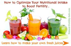 One Fertility Tip You Probably Don't Know About: Juicing #NaturalFertility