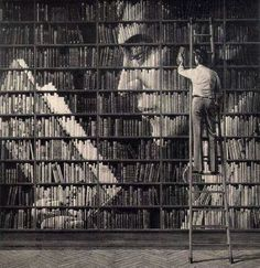 Awesome creativity with books.