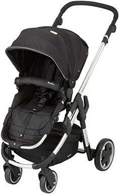 Zzz  Kiddy Click 'n Move 3 Stroller - Racing Black by Kiddy