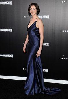 Anne Hathaway Photos: 'Interstellar' Premieres in Hollywood
