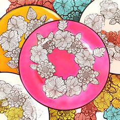 OMG! This is amazing! Adult Coloring Book Dishes #DIY
