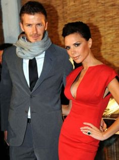 David and Victoria Beckham, fashion power couple!