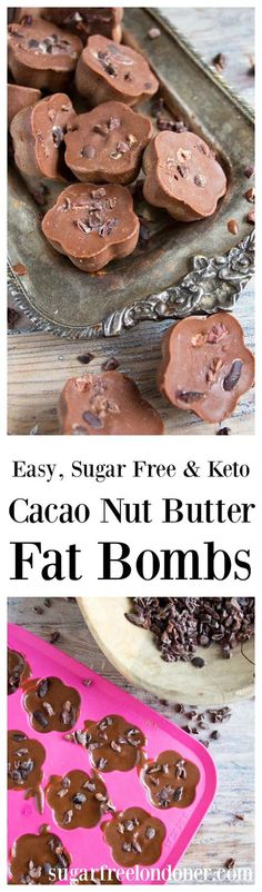 Cacao nut butter bombs are a great way to satisfy a sweet craving. They are packed with healthy fats and a delicious source of energy.