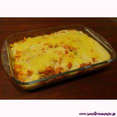 vegetarischer Kartoffel-Gemüseauflauf - Rezept  ein vegetarisches Kartoffel-Gemüseauflaufrezept vegetarisch