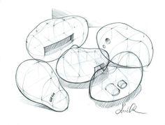 Drawings by Sol Ok, via Behance.