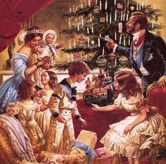 Victorian christmas.