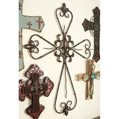 Litton Lane 26 in. x 36 in. Rustic Elegance Bronze-Finished Iron Fleur de Lis Cross Wall Decor 63234 - The Home Depot Window Wall Decor, Cross Wall Decor, Crosses Decor, Tree Wall Decor, Wall Crosses, Rustic Wood Walls, Rustic Wall Decor, Metal Wall Decor, Metal Tree Wall Art