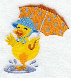 Machine Embroidery Designs at Embroidery Library! - Dancing in the Rain