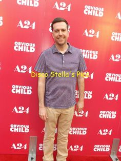 Ed Helms(Actor-The Hangover)-Obvious Child Movie Screening. Copyright: Disco Stella's Pics.