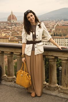 Unlost | Food, Fashion & Travel.: Neutrals in Florence, Italy