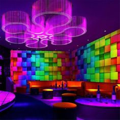 Colorful Stereo Cube Wall Paper for Night Club House Decor Living Room Wallpaper Mural Non-woven 3d Cube Wallpaper, Plaid Wallpaper, Photo Wallpaper, Window Cling Vinyl, Window Clings, Living Room Wallpaper Murals, Vinyl Wall Covering, Nightclub Design, Club Lighting