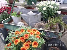 Vintage 541: Autumn Decor in the Vintage 541 Shop