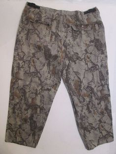 #444 * Size 2XL 41X31 * Natural Gear * Camouflage Utility Hunting Pants  #Naturalgear