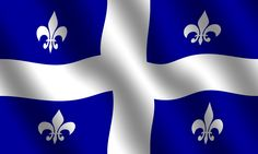 Flag of Quebec. Flag of the canadian frenchspeaking province of Quebec. With wav , Quebec French, Old Quebec, Quebec City, Capital Of Canada, O Canada, Expression Quebecoise, St Jean Baptiste, Chute Montmorency, Canadian Forest