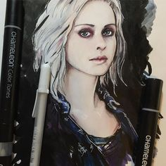 We love this 2nd Drawing of Izombie fan art created by 'cleoscc with Chameleon Pens,nail varnish remover and white gellyroll pens.  #drawingsketch #pentelbrushpen #lineart #izombie #izombieliv #fanart #stagesofdrawing #zombie #stages #skechers #doodle #sketchbook #chameleonpens #pentalpocketbrush #gellyrollpen #markerart #penart #drawingbyhand #liv #izombieliv #zombiegirl #liveizombie #doodlezombie #myartstyle #zombieart #2016zombie #greyart #hintofred #dropdeadzombie