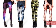 Red Behavior: #RedFashion - Leggings Estampadas no AliExpress