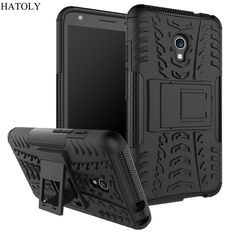 """For Alcatel Pixi 4 (5) Case Armor Silicon Hard Plastic Case For Alcatel One Touch Pixi 4 4G/OT5045X/5045D 5.0"""" with Stand Holder"""