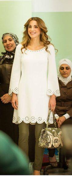 April 28, 2015, ♔♛Queen Rania of Jordan♔♛...