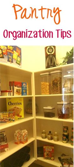 24 Tips to Organize Your Pantry! ~ from TheFrugalGirls.com - get inspired with these pantry organization tips, DIY ideas and organizing tricks! #pantries #thefrugalgirls
