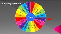Játékos tanulás és kreativitás: Pörgess egy jutalmat! - szerencsekerékkel