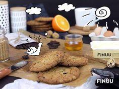 Wiecie, że FINUU nadaje się nie tylko do smarowania pieczywa, ale również do różnego rodzaju wypieków? Na przykład pysznych ciastek z dodatkiem czekolady. ;) #finuu #ciastka #czekolada #porady