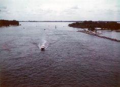 Boat at Sebastian Inlet - Indian River County, Florida