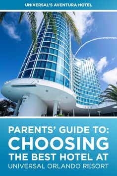 Most parents know a hotel can make or break a vacation experience. Here we let you know which Universal Orlando hotel is best for you and your family. Universal Orlando Hotels, Universal Parks, Universal Studios Florida, Orlando Resorts, Beach Resorts, Hotels And Resorts, Best Hotels, Dive In Movie