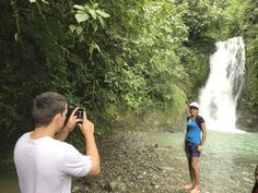 The waterfalls in Costa Rica make excellent backdrops for photographers as hobbyists, amateurs or professionals. Come Join Us! Costa Rica Property, Great Backgrounds, Professional Photography, Property Management, Waterfalls, Photographers, Nature Photography, Backdrops, Join