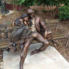 Beautiful Sculpture Artist: George Lundeen