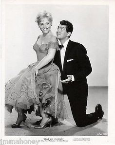 JUDY HOLLIDAY DEAN MARTIN Original 1960 BELLS ARE RINGING MGM Portrait PHOTO