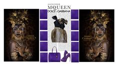 """Alexander McQueen & Dolce and Gabbana"" by irresistible-livingdeadgirl ❤ liked on Polyvore featuring Oris, Alexander McQueen, D&G, Dolce&Gabbana, AlexanderMcQueen, dolceandgabbana, LeopardPrint, animalprint and dolcegabbana"