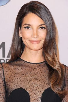 7 Top Models Sound Off on All Things Valentine's Day is part of Lily aldridge hair - Love is in the air Lilly Aldridge Hair, Lily Aldridge, Down Hairstyles, Girl Hairstyles, Wedding Hairstyles, Red Carpet Hairstyles, Scene Hairstyles, Hair Day, New Hair