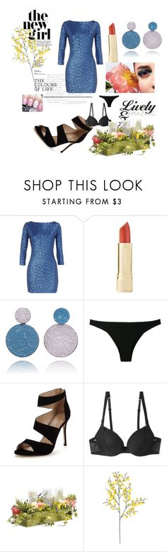 """Night out"" by elisinhahalliwell on Polyvore featuring beleza, Dorothy Perkins, La Perla, Carvela e National Tree Company"