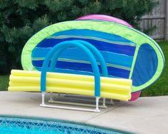 Pvc Pool Float Rack Poolside Pinterest Pool Floats