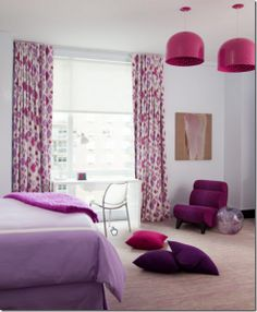 Radiant Orchid- Home decor ideas- Simple and Easy ways to decorate house http://diyhomedecorguide.com/radiant-orchid-home-decor/