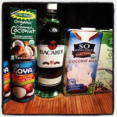 "For years I have been making coquito. from of course. a Puerto Rican recipe! This was a ""secret"" recipe from my friend's Grama! Grama's do hold all the secret recipes- don't they? My friend wal. Vegan Coquito Recipe, Vegan Alcohol, Comida Boricua, Boricua Recipes, Vegan Thanksgiving, Vegan Christmas, Christmas Drinks, Christmas Goodies, Merry Christmas"