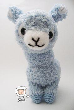 Crochet Alpaca Amigurumi Pattern (PDF format)